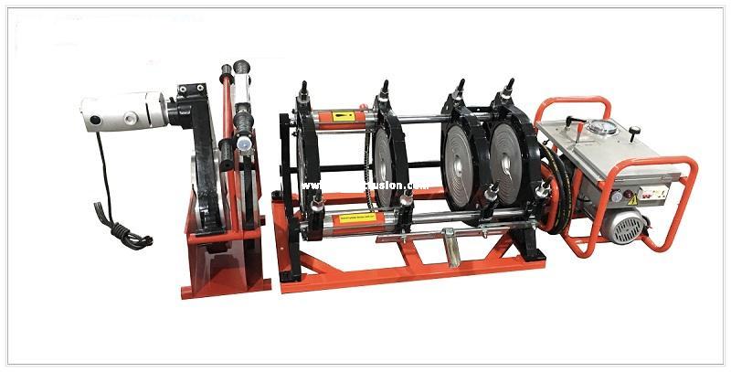 cho thuê máy hàn ống thủy lực HDPE D250