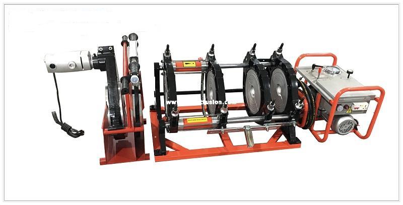 cho thuê máy hàn ống thủy lực HDPE D355