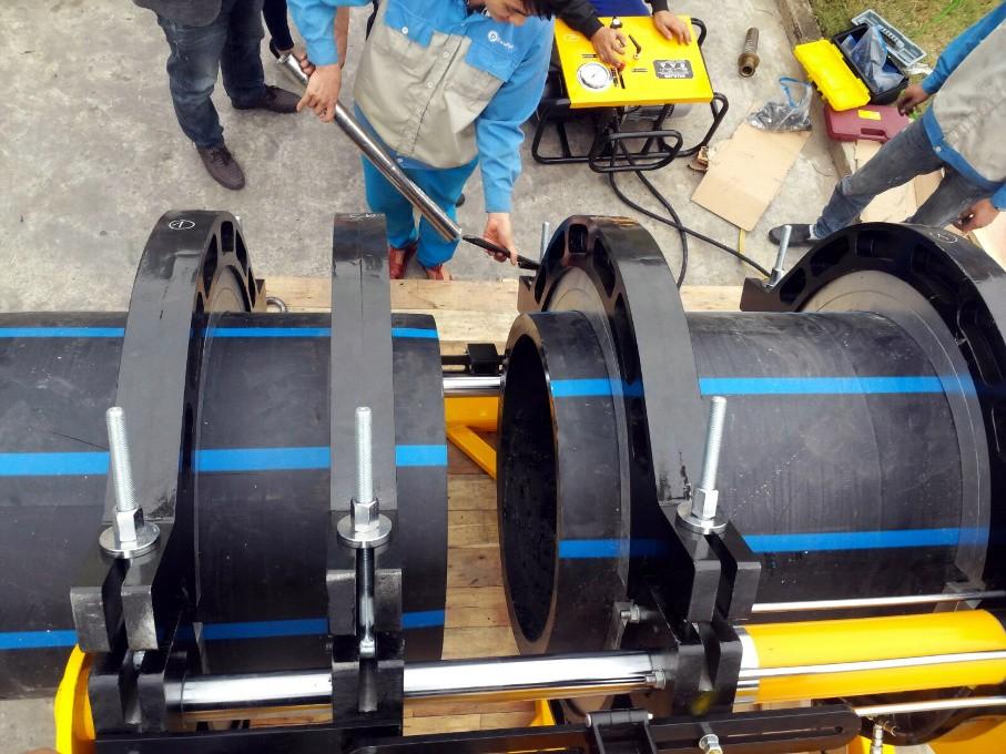 4 điếu thiết yếu cấn chú ý và 8 điều thông số quan trọng  trong quy trình khi hàn đối đầu ống HDPE